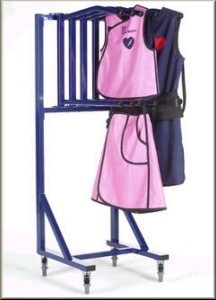 AR5-MOB - 5 Arm Mobile Apron Hanger