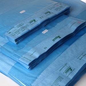 FLAT BLUTEX POUCHES FOR STEAM AND GAS STERILIZATION