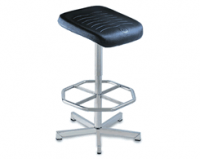 Swivel Seat with Footrest